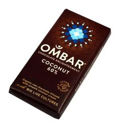 OMBAR raw chocolate 60% coconut