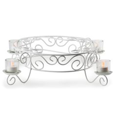 """Wilton 307-351 Votive Candlelight Cake Display Stand - 21 1/2"""" x 5"""" 9 Pieces / Set"""