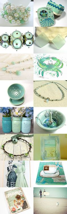 Seafoam Dreams by Lindsay Rhodes on Etsy--Pinned with TreasuryPin.com