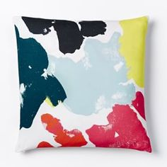 Kate Spade Saturday Floral Study Pillow Cover - Habanero #West Elm