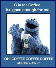C es para Café, bastante bueno para mi! Oh, café café café empieza con C!~ C is for Coffee, it's good enough for me! Oh, coffee coffee coffee starts with C! Coffee Talk, Coffee Is Life, I Love Coffee, Coffee Break, My Coffee, Coffee Cups, Coffee Lovers, Starbucks Coffee, Coffee Shop