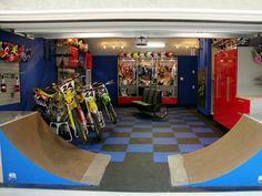 BMX Man Cave :: Garage conversion