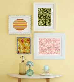 Cute and simple wall art.