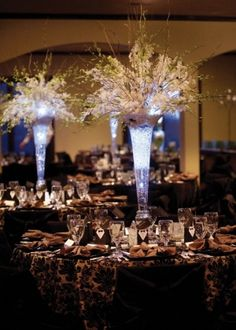 Tall Floral Centerpiece Ideas