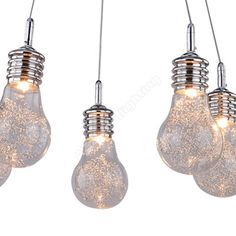 AZzardo Otus 5 - Függő lámpák Light Bulb, Ceiling Lights, Lighting, Luxury, Pendant, Home Decor, Decoration Home, Light Fixtures, Room Decor