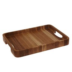 Buy John Lewis & Partners Medium Rectangular Oak Wood Tray, Natural from our Trays range at John Lewis & Partners. Coffee Table Tray, Wood Tray, Cool Items, Office Interiors, John Lewis, Home Accessories, Old Things, Stuff To Buy, Carousel