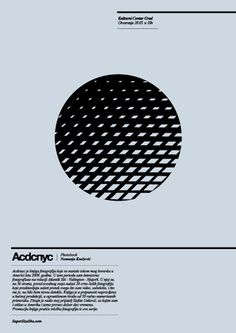 Acdcnyc exhibition poster by Stefan Unkovic