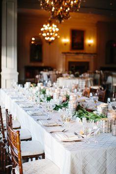 Virginia Wedding: Classic Elegance at Army Navy Country Club - MODwedding