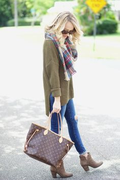 Olive and Plaid...
