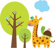 Imagens Safari para montagens digitais - Cantinho do blog Layouts e Templates para Blogger