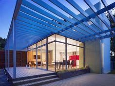 Bouldin Creek Courtyard House - modern - patio - austin - Baldridge Architects