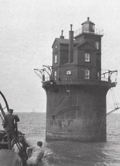 Fourteen Foot Bank Lighthouse off Delaware