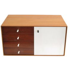 1stdibs.com | A George Nelson For Herman Miller Miniature Chest #5211