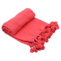 Spice coral throw. J Beautiful color!!