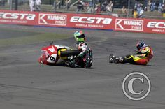 Ouch! | Motorsport Photography | Southampton Photographer - Chris Martin