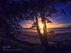 Popular on 500px : Sunset at Carmel Beach by RahulDutta7