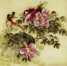 китайская акварель цветы: 15 тыс изображений найдено в Яндекс.Картинках