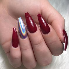 "1,018 curtidas, 3 comentários - Steven Tran (@sinhtran2501) no Instagram: ""Dark red @sinhtran2501 #beenleighnails #goldcoastnails #hairandbeautydirectory #fashionmagazine…"""