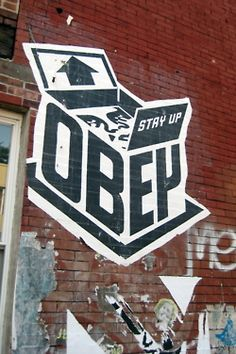 obey This is Art, not Mine nor yours, but It deserves to be seen...by everyone...Share it...