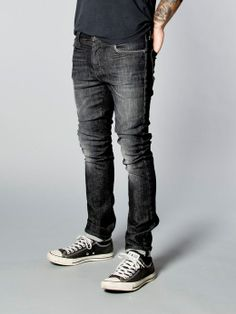 High Kai Organic Ogatan - Nudie Jeans Co   Unisex Jean, our best seller for women.. High rise, skinny leg