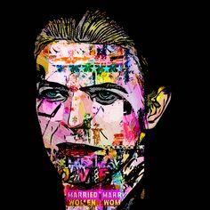 David Bowie Art, Chameleon, The Rock, My Hero, Pop Art, Character, Art Pop, Chameleons, Lettering