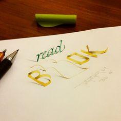 3d calligraphie et le lettrage de Tolga Girgin - 25