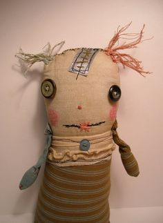 Monster Tizzy | Art Doll by Junker Jane