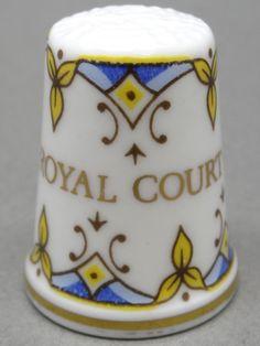 Royal Court-England. Edicion UK. TCC. Thimble-Dedal-Fingerhut.