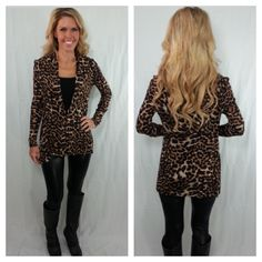 Leopard Cardi 2 (in Medium)