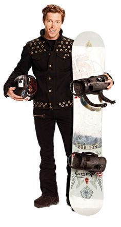 Shaun White 2013 photo shoot.