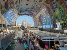 New market hall in Rotterdam -http://goo.gl/mMGEPR #UrbanPlanning #civilengineeringservices #townplanning #gradingdesign