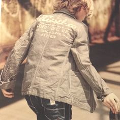 Diesel boy fashion cool fall look for kids