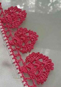 Esma's 360 media content and analytics Crochet Bolero Pattern, Crochet Border Patterns, Crochet Bikini Pattern, Crochet Motif, Crochet Designs, Crochet Doilies, Crochet Stitches, Crochet Flowers, Slip Stitch Crochet