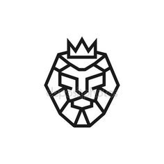 Download - Lion Logo Template — Stock Illustration #81112744