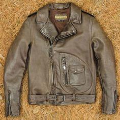 Vintage Schott Perfecto 618 in brown. | ViNtAgE Motorcycle ...