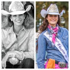 Happy to the first siblings to hold the title of Miss Rodeo Oregon. Southern Girls, Country Girls, Queen Fashion, Boho Fashion, National Sibling Day, It Band, Rodeo Queen, Cowgirls, Fall Wedding