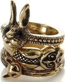 ring woodland animals