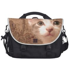 Vintage Pussycat Bag For Laptop!  http://www.zazzle.com/conquestkitty*