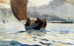 Winslow Homer ~ The Poet of the Sea | Tutt'Art@ | Pittura • Scultura • Poesia • Musica