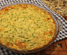 A creamy, crustless zucchini pie makes great use of summer's zucchini bounty. Or try delicious zucchini fritters. Both are quick and easy to make. Zucchini Pie, Zucchini Salad, Zucchini Fritters, Kitchen Recipes, Wine Recipes, Cooking Recipes, Healthy Recipes, Cooking Ideas, Savory Muffins
