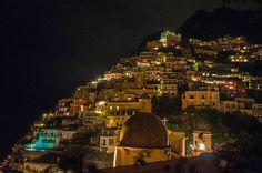 #Positano at #Night (#Amalficoast)