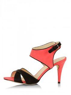 LIBERTY SENORITA Sandals With Cross-Over Front Straps by KOOVS.COM