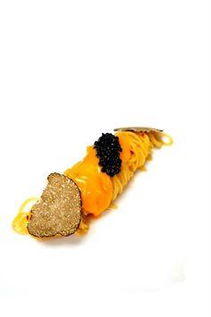 CHILLED CAPPELLINI | summer truffle | sea urchin | caviar