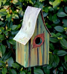Songbirds will have it made in the shade with this Heartwood Shady Shed Bird House . Beautifully designed and handcrafted, this bird house is made.