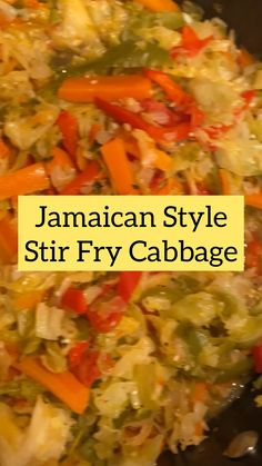 Tasty Vegetarian Recipes, Vegetable Recipes, Healthy Recipes, Jamaican Dishes, Jamaican Recipes, Veggie Dishes, Food Dishes, Side Dishes, Island Food