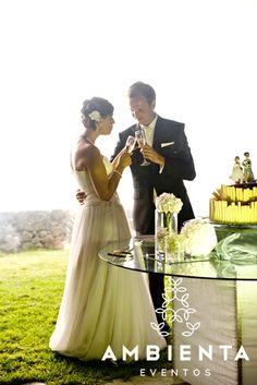 Corte do Bolo / Cutting the weeding cake
