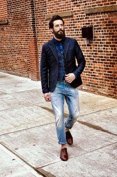 Men's Amsterdams Blauw - Denim- en jeanscollectie | Scotch & Soda online winkel