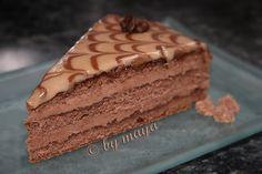 Amandina Cake by Maya Maya, Romanian Desserts, Torte Cake, Food Cakes, Something Sweet, Cake Cookies, Tiramisu, Cake Recipes, Sweets