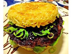 A DIY ramen burger? I'm thrilled I can make this at home instead of standing in a crazy long line for it in Brooklyn.