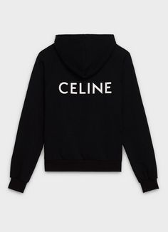 Classic hoodie sweater in CELINE printed fleece Blackpink Fashion, Fashion Books, Fashion Killa, Cute Sweatpants, Hooded Sweatshirts, Hoodies, Latest T Shirt, Looks Chic, Teen Fashion